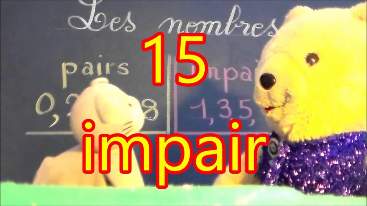 Nombre Pair Et Impair : Le Reconnaître En Cp Ce1 Ce2 Cm1 Cm2 avec Nombres Pairs Et Impairs Ce2