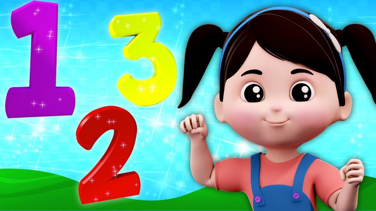 Nombres Chanson | Apprendre Chiffres En Français | Chiffres Pour Enfants |  Kids Rhyme | Numbers Song tout Chanson Des Chiffres En Français