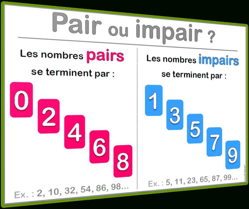 Nombres Pairs Et Impairs Ce2 (Avec Images) | Jeux intérieur Nombres Pairs Et Impairs Ce2