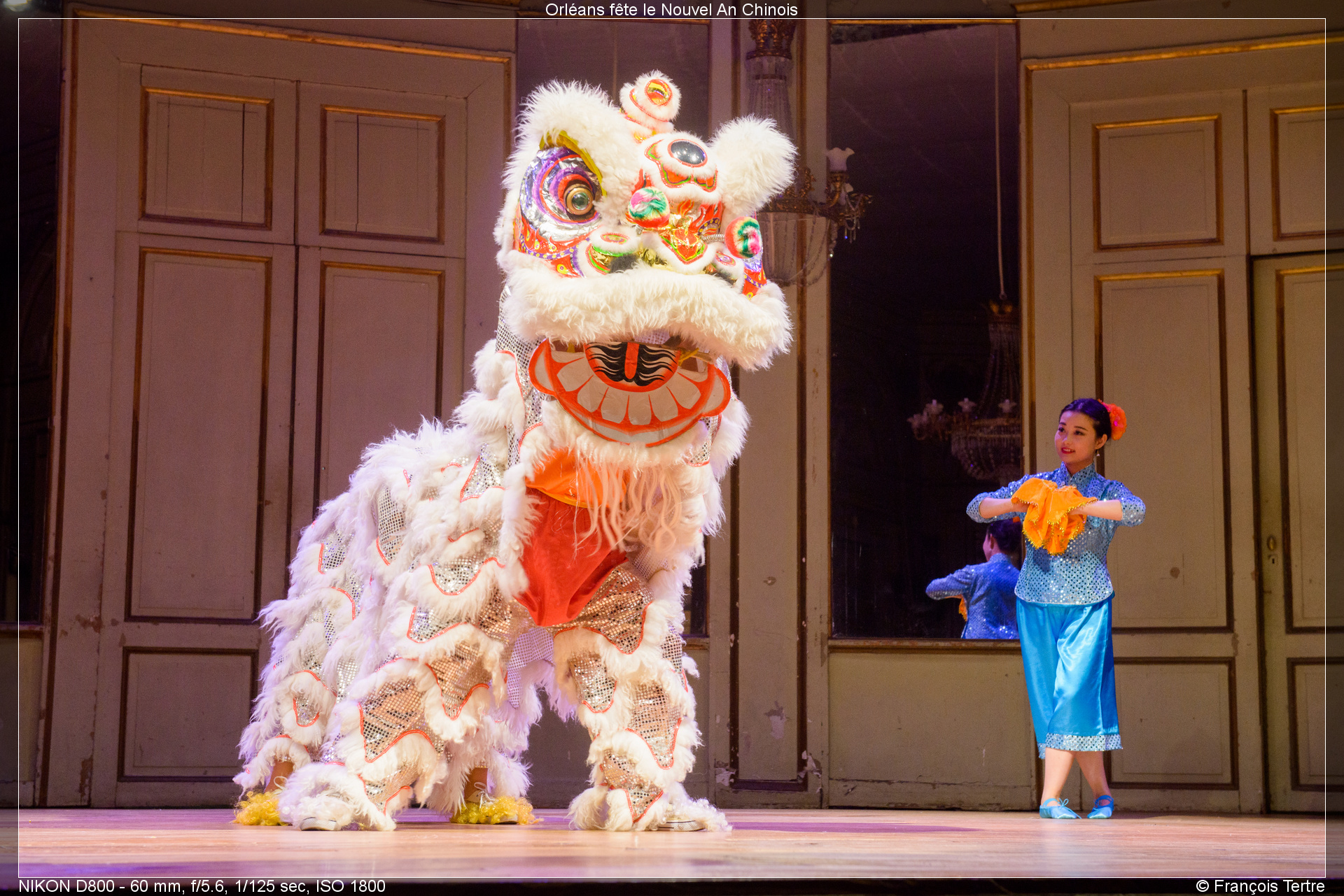 Nouvel An Chinois À Orléans - Spectacle Culturel tout Spectacle Danse Chinoise