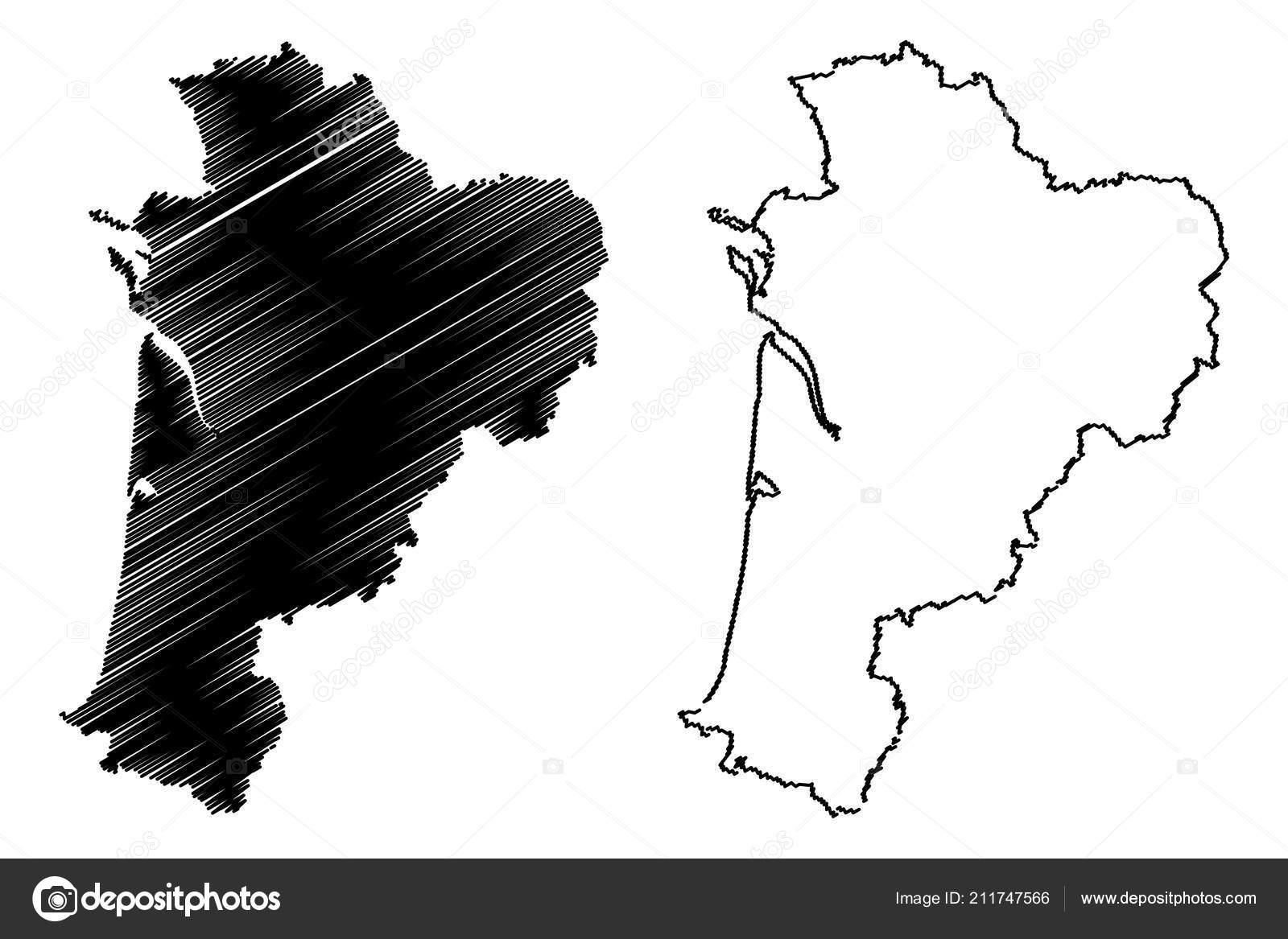Nouvelle Aquitaine France Administrative Region Map Vector destiné Nouvelle Region France