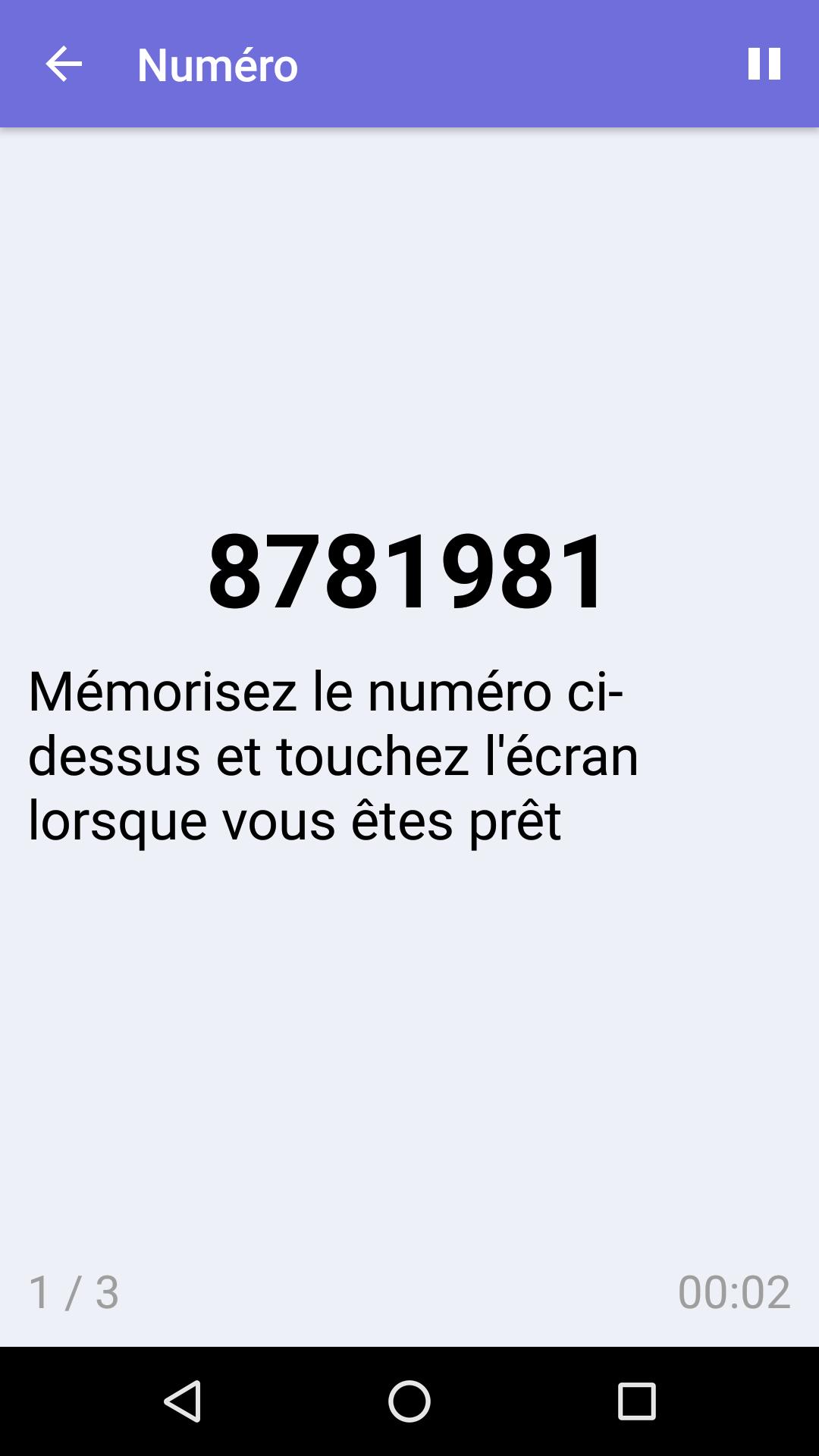 Numéro : Jeu De Mémoire Gratuit Pour Iphone & Android à Jeu De Memoire Gratuit