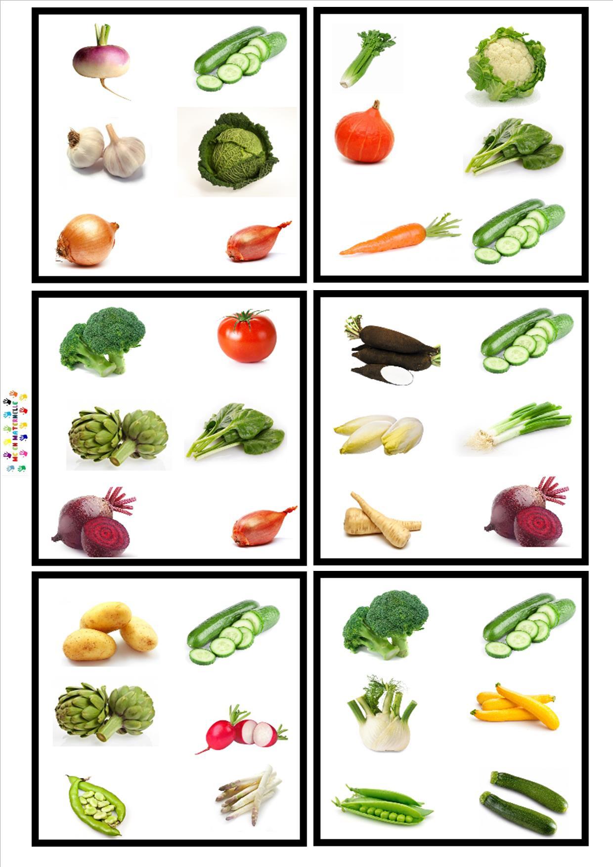 Oh Les Bonnes Soupes : Jeu Dobble Pour Apprendre Le Nom Des à Chanson Sur Les Fruits Et Légumes