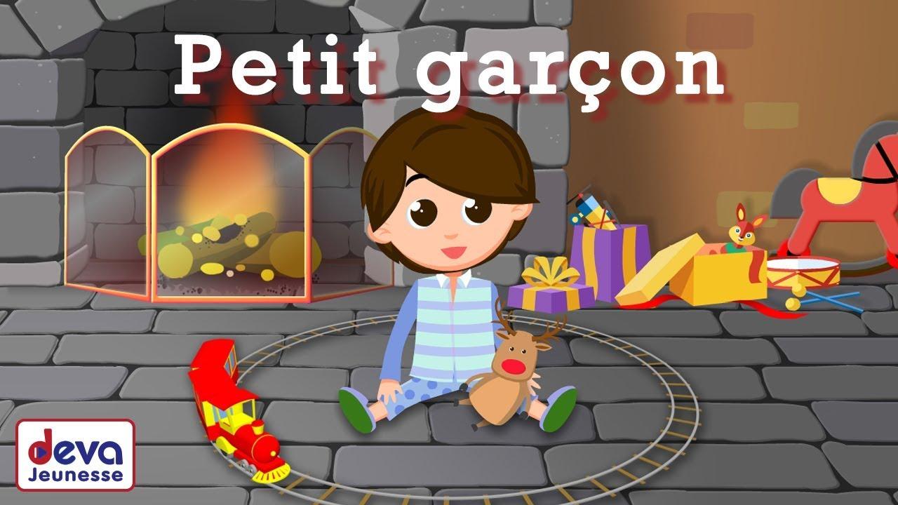 Old Toys Train French Version (Petit Garçon) - Children Song With Lyrics serapportantà Chanson Dans Son Manteau Rouge Et Blanc
