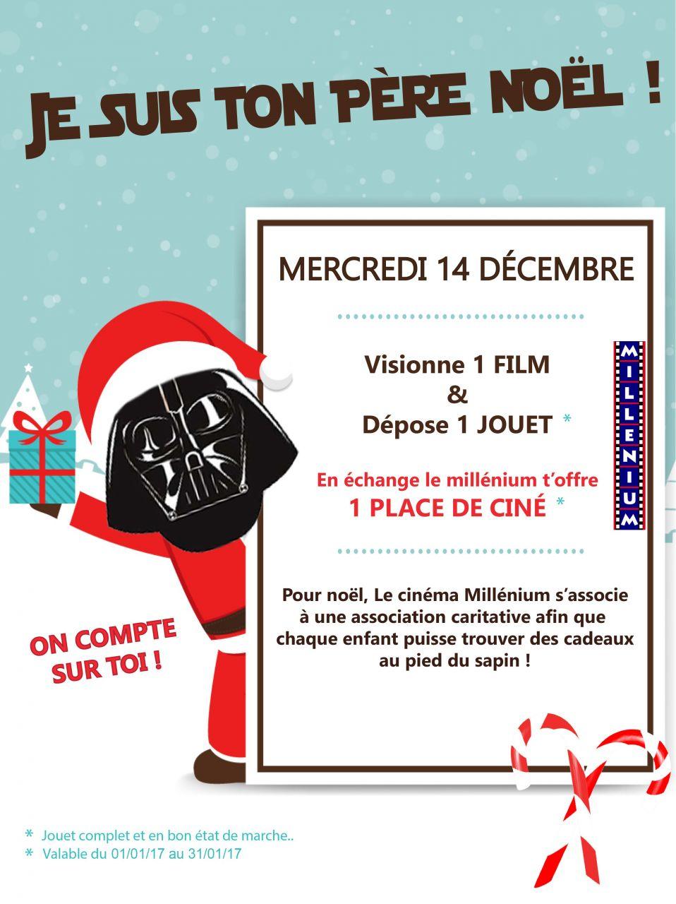 Opération « Je Suis Ton Pere Noel » Au Millenium De Caudry à Musique Du Père Noël