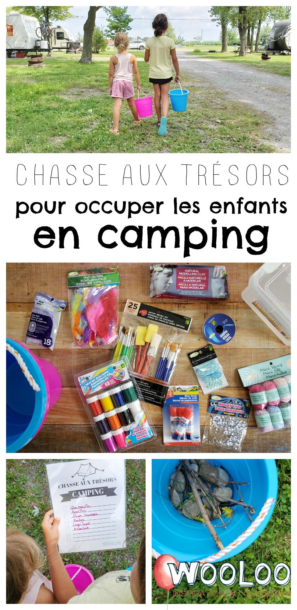 Organiser Une Super Chasse Aux Trésors En Camping - Wooloo pour Activité Chasse Au Trésor