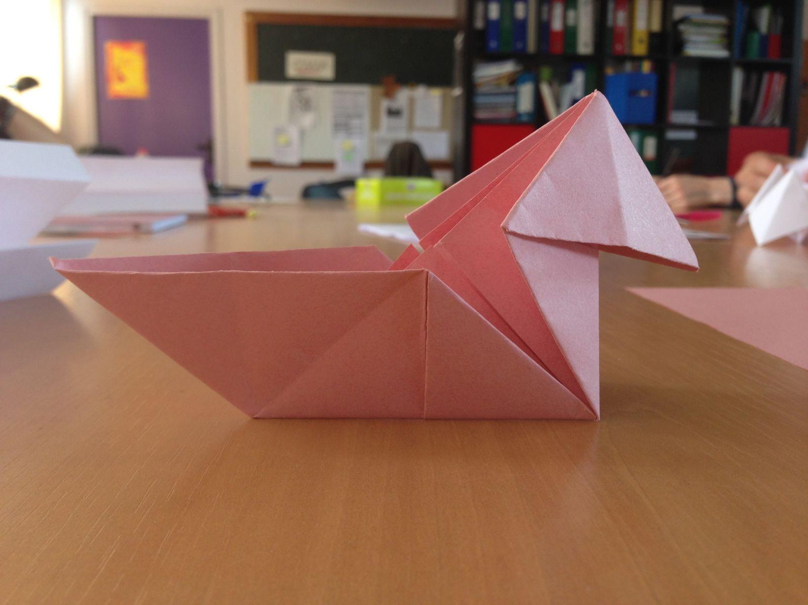 Origami - Bpjeps Loisirs Tout Public à Origami Canard