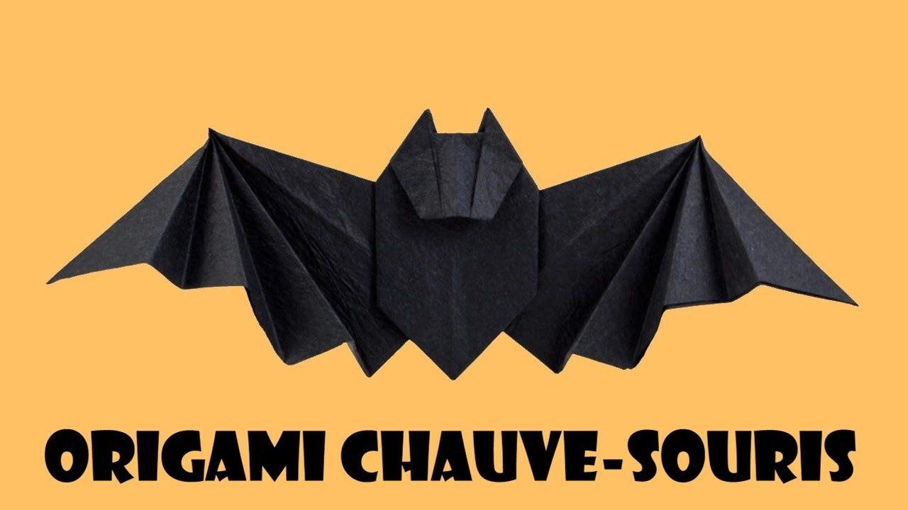 Origami Chauve Souris   Origami, Jeux Et Compagnie, Chauve destiné Origami Chauve Souris