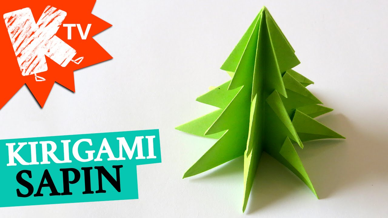 Origami Christmas Tree encequiconcerne Origami Sapin De Noel