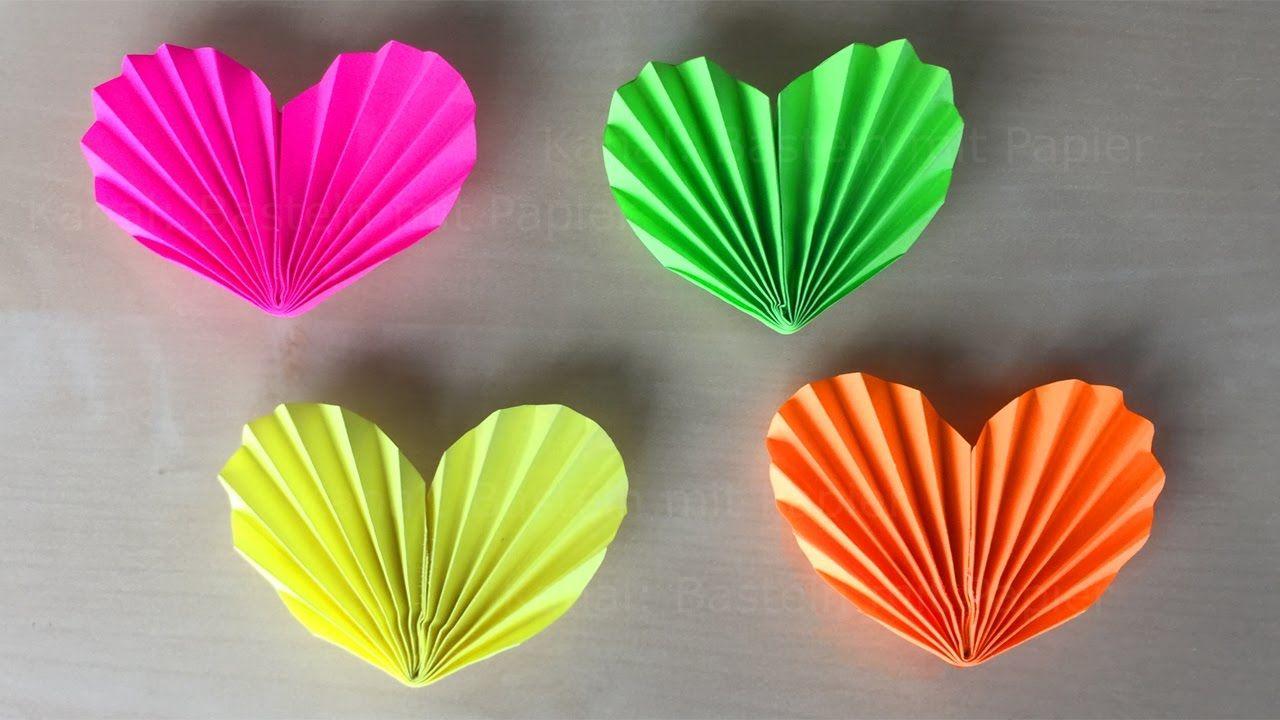 Origami Corazón ❤ Regalo Para Mamá - Manualidades Faciles encequiconcerne Origami Rose Facile A Faire