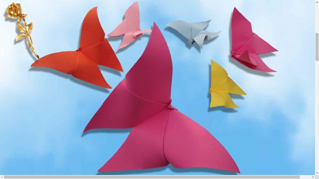 Origami Facile : 🦋 Papillon Le Plus Facile pour Origami Facile A Faire En Français