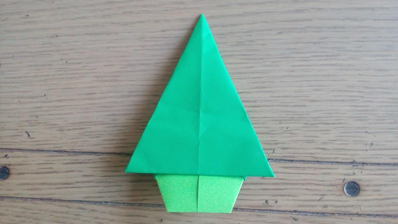 Origami Facile : Sapin De Noël (Christmas Tree By Alexandre serapportantà Origami Sapin De Noel