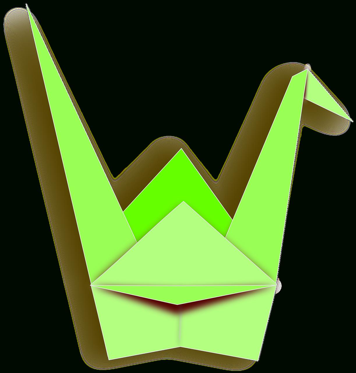 Origami Grue Canard - Images Vectorielles Gratuites Sur Pixabay tout Origami Canard
