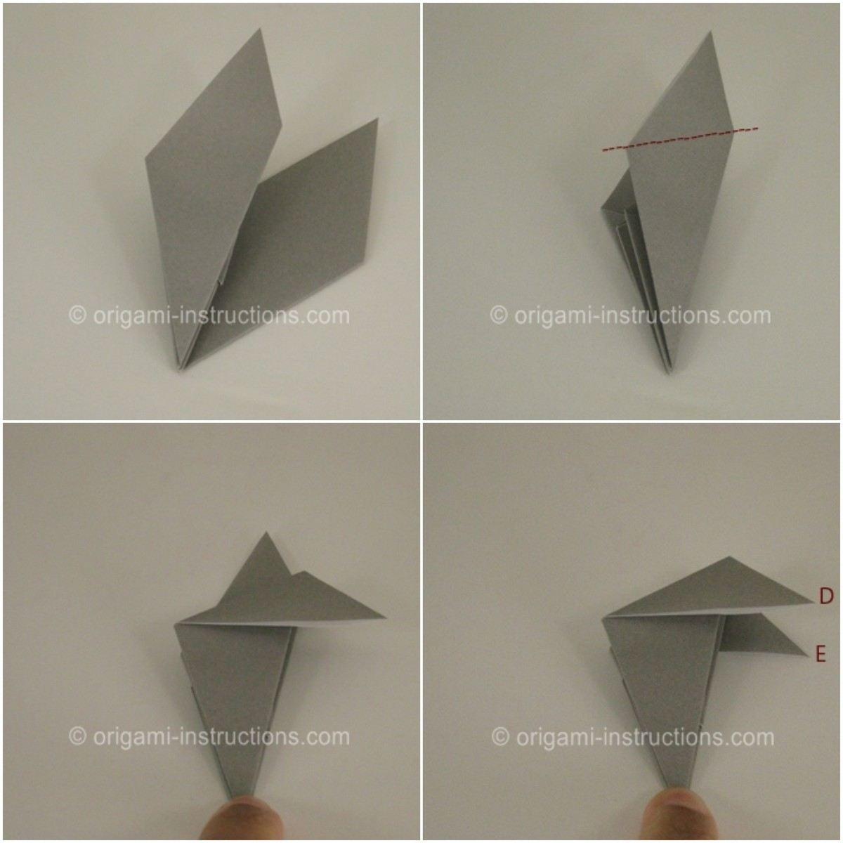 Origami Halloween Facile Étape Par Étape : Les Motifs Populaires à Origami Chauve Souris