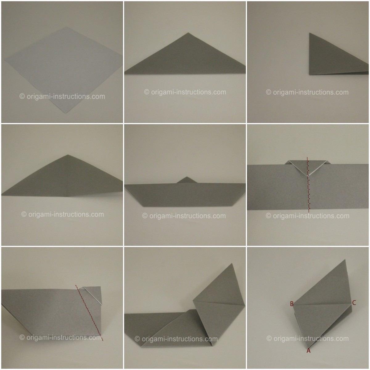 Origami Halloween Facile Étape Par Étape : Les Motifs Populaires avec Origami Chauve Souris