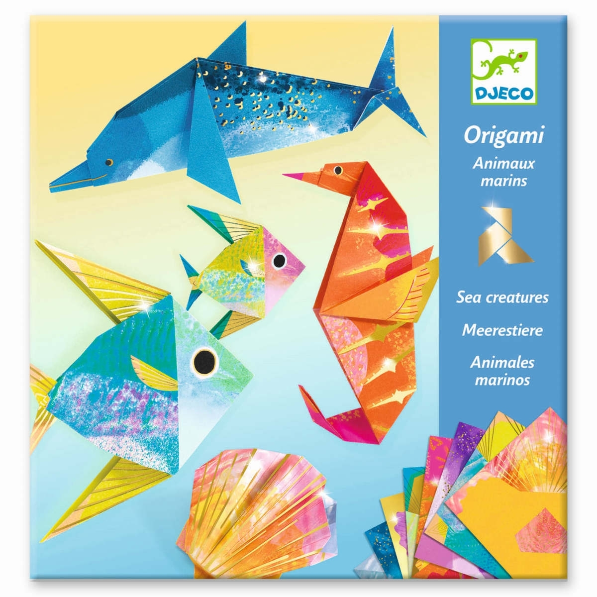 Origami Meerestiere serapportantà Origami Petit Bateau