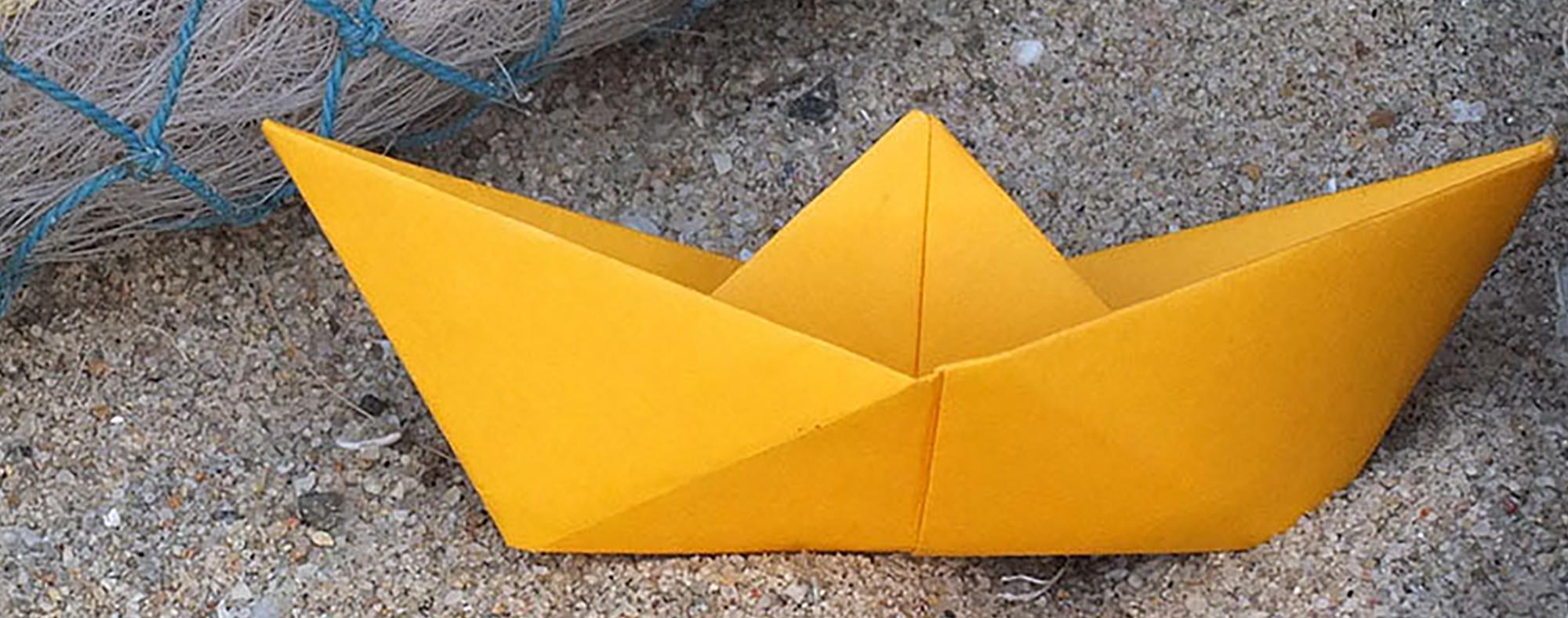 Origami Petit Bateau De Papier - Little Urban avec Origami Petit Bateau