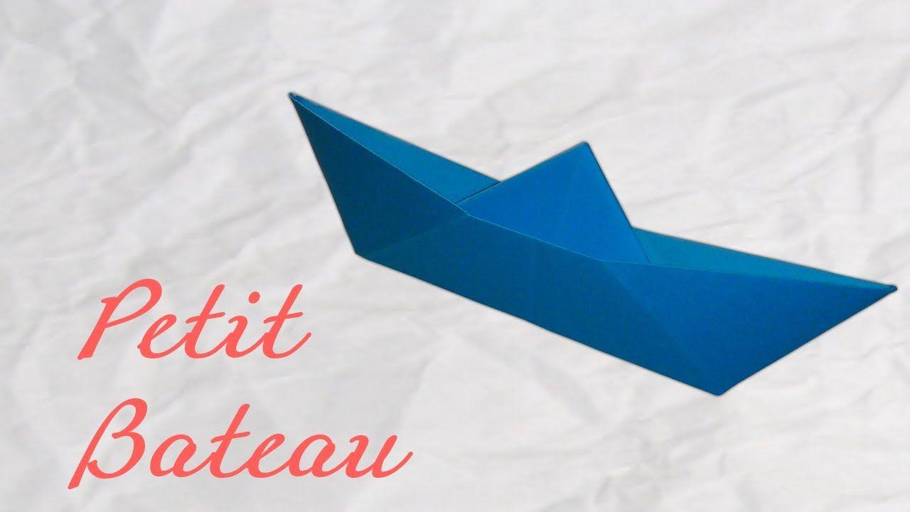 Origami ! Un Petit Bateau - Small Boat Paper [ Hd destiné Origami Petit Bateau