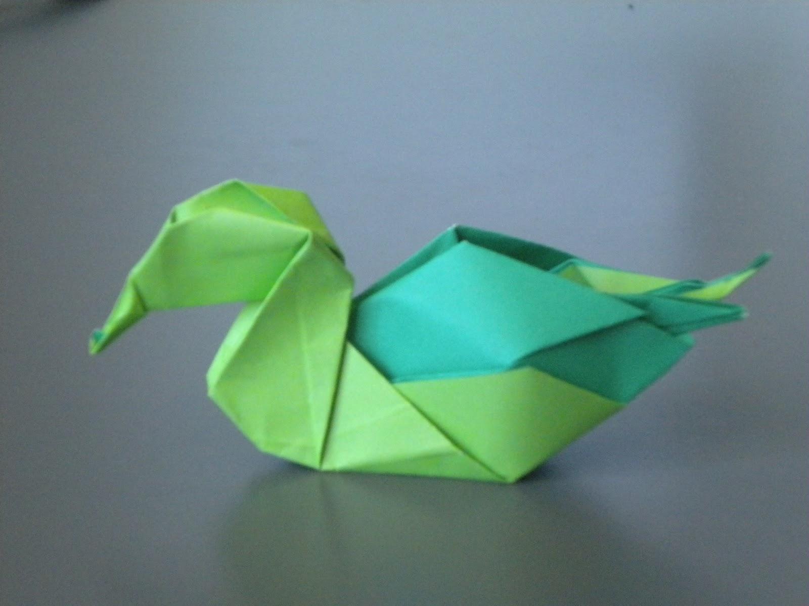 Orisamy: Canard dedans Origami Canard