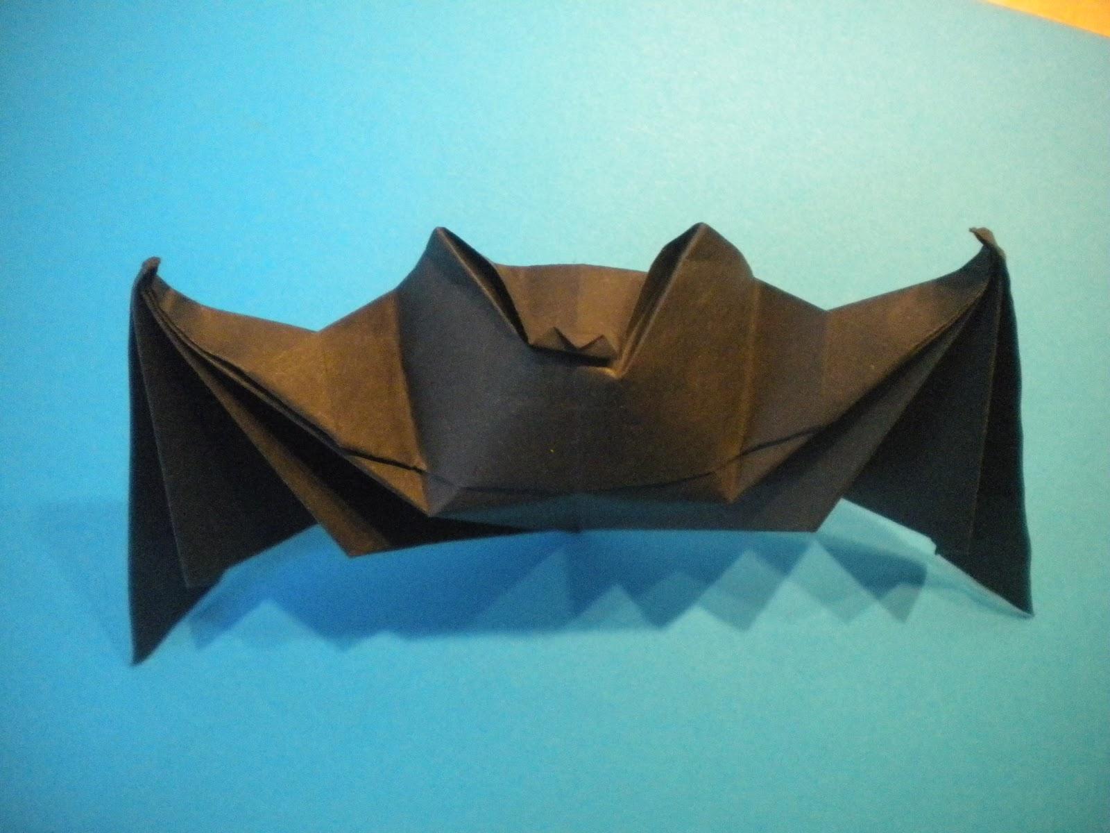 Orisamy: Chauve-Souris dedans Origami Chauve Souris