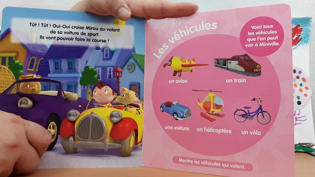 Oui-Oui, La Ville-Mes Premiers Mots Du Quotidien / Histoire Pour Les  Enfants En Français dedans Avion De Oui Oui