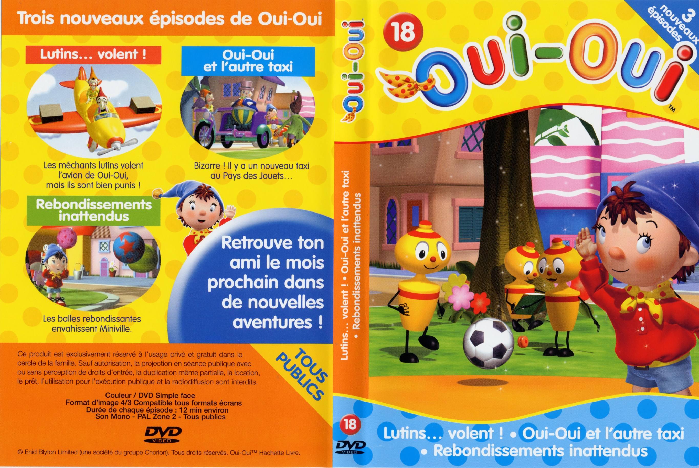 Oui Oui Vol 18 - Jaquette Dvd Sur Degaine serapportantà Avion De Oui Oui