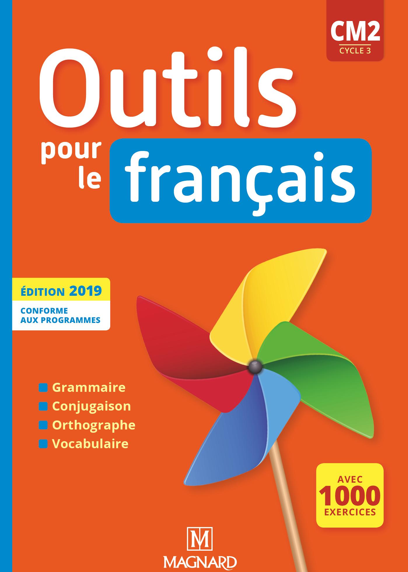 Outils Pour Le Français Cm2 (2019) - Manuel | Magnard encequiconcerne Exercice Cm2 Gratuit
