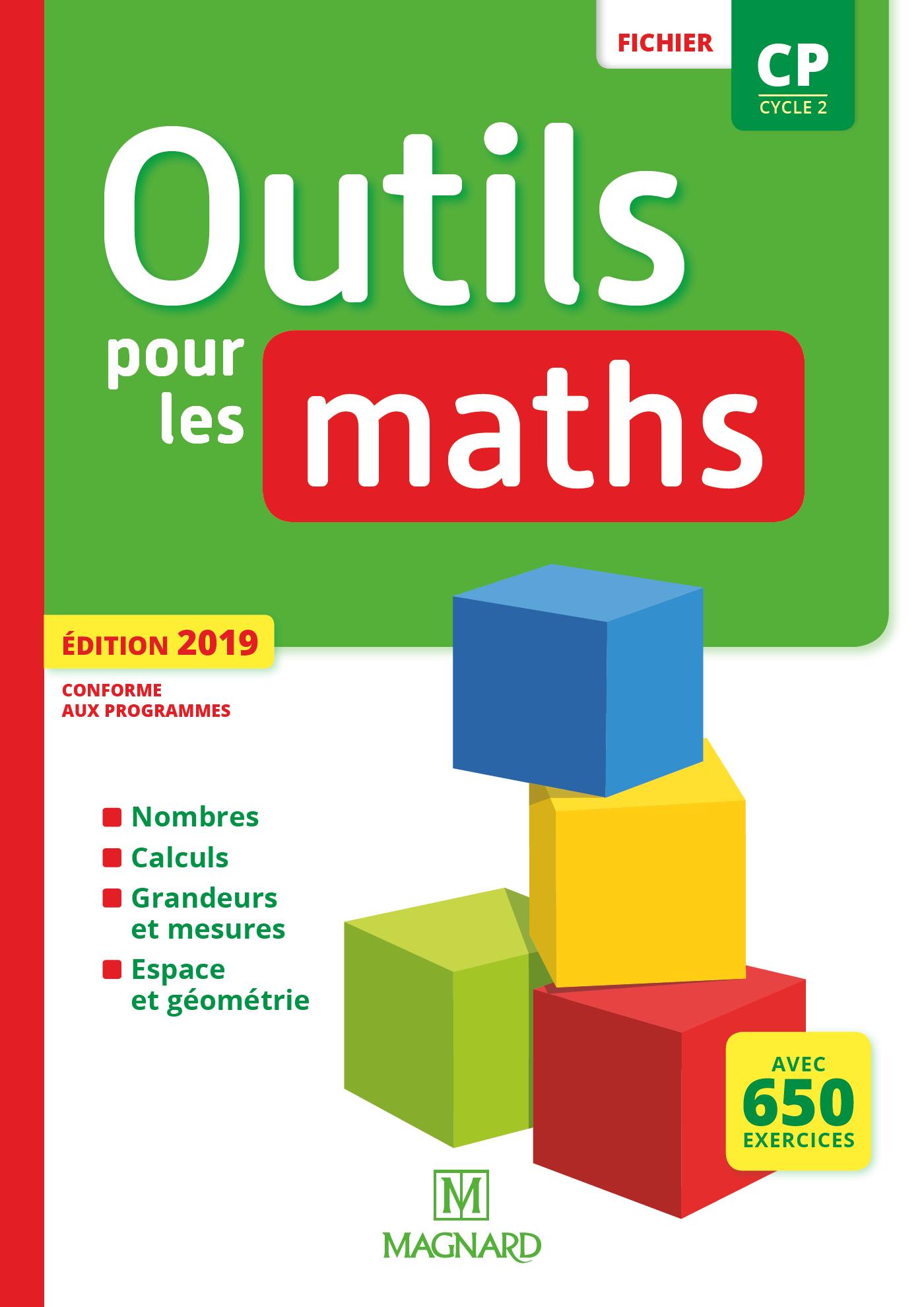 Outils Pour Les Maths Cp (2019) - Fichier De L'élève concernant Fiche Géométrie Cp