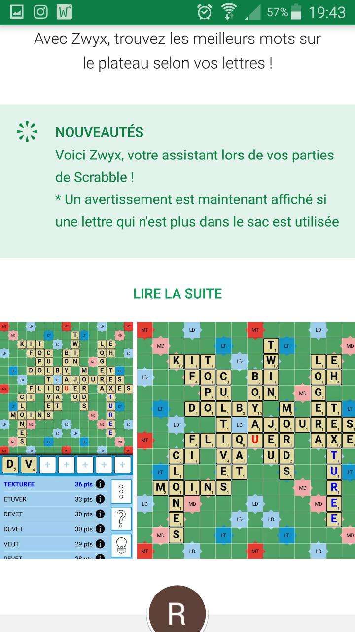 Outils Pour S'entraîner Au Scrabble - Scrabble Plesséen encequiconcerne Jeux De Lettres Gratuits