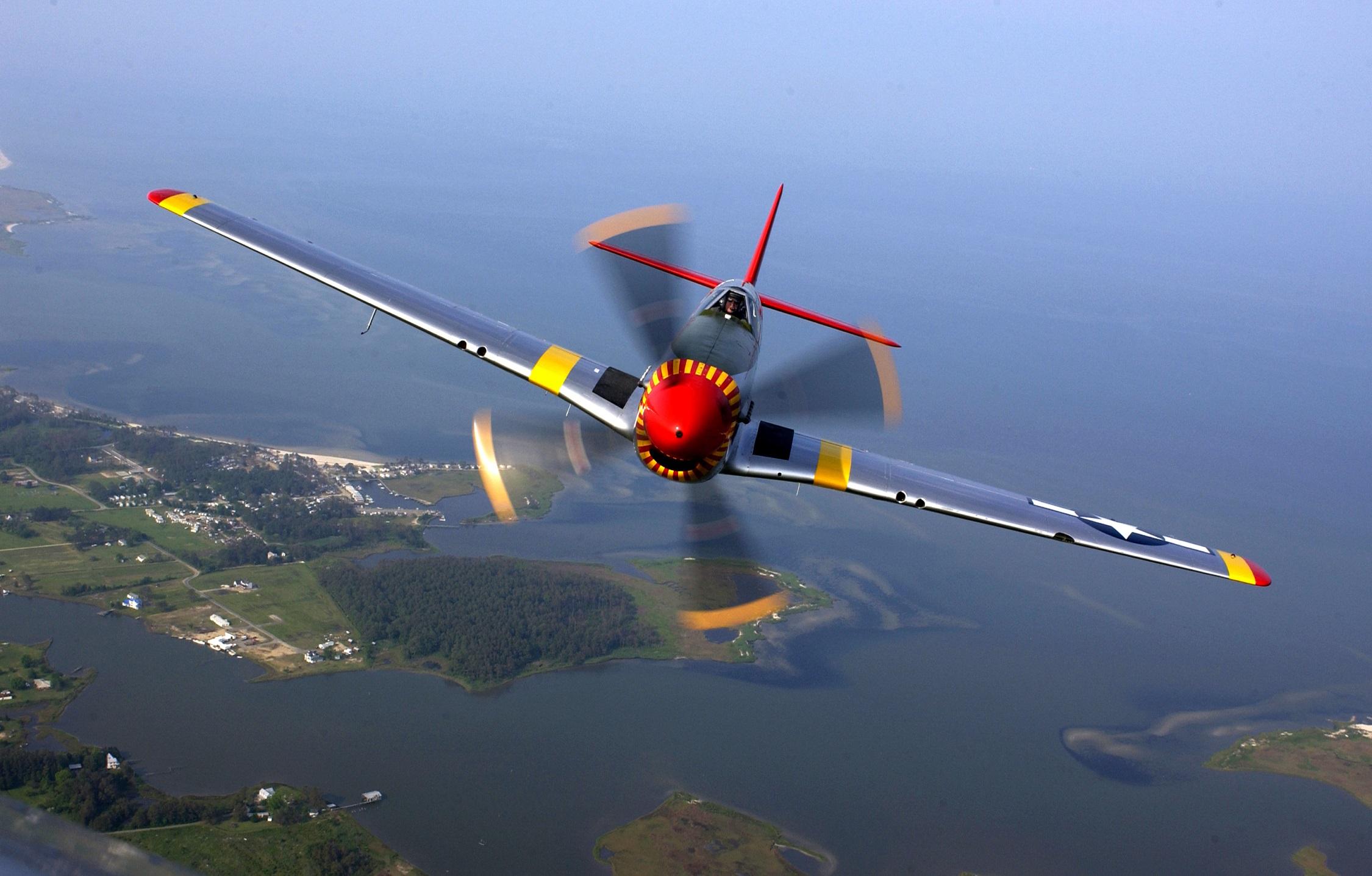 P-51 Mustang, Le Libérateur De L'europe tout Avion De Oui Oui
