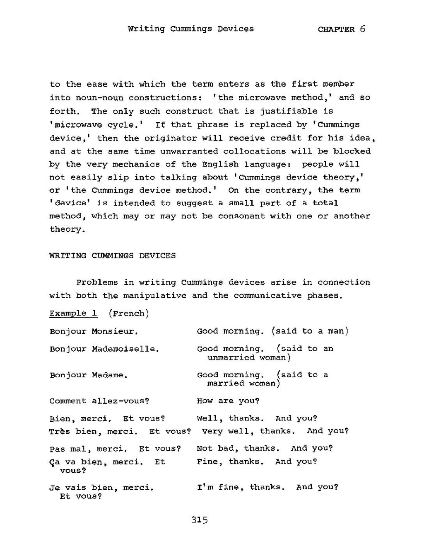 Page:adapting And Writing Language Lessons.pdf/332 destiné Bonjour Monsieur Comment Ca Va