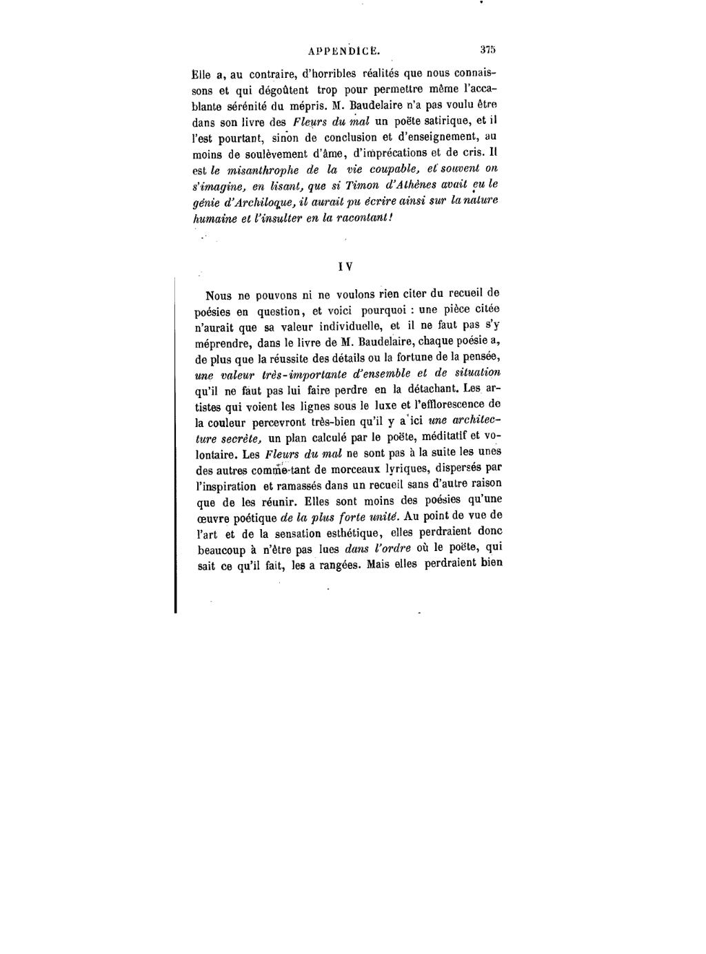 Page:baudelaire Les Fleurs Du Mal.djvu/379 - Wikisource serapportantà Poeme Les Fleurs