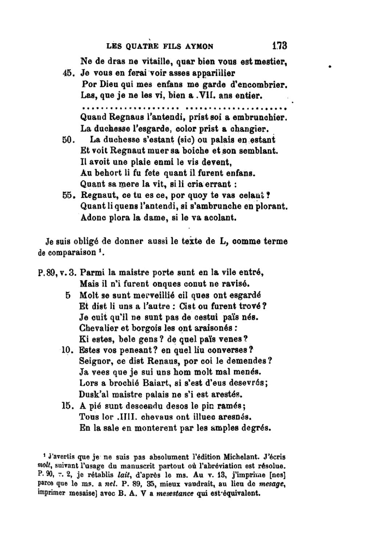 Page:castets - La Chanson Des Quatre Fils Aymon, 1909.djvu pour Chanson A Imprimer
