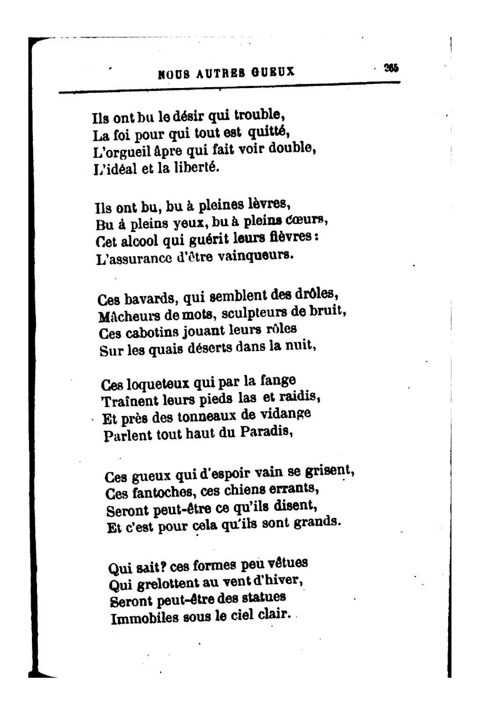 Page:richepin - La Chanson Des Gueux, 1881.djvu/302 - Wikisource destiné Dans La Nuit De L Hiver Chanson