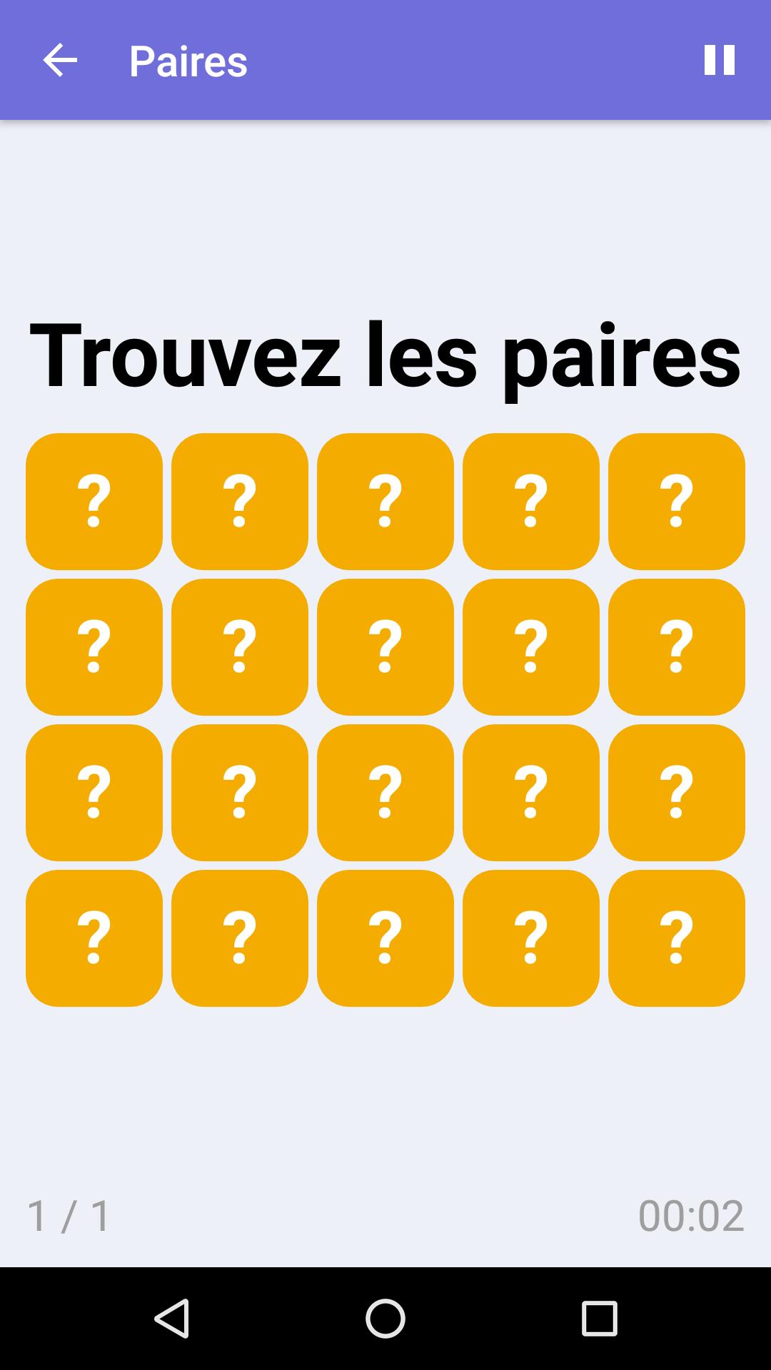 Paires : Jeu De Mémoire Gratuit Pour Iphone & Android avec Jeu De Memoire Gratuit