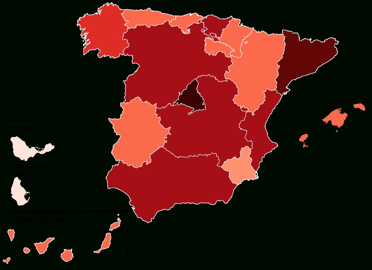 Pandémie De Covid-19 En Espagne — Wikipédia intérieur Chiffres Espagnol 1 À 1000