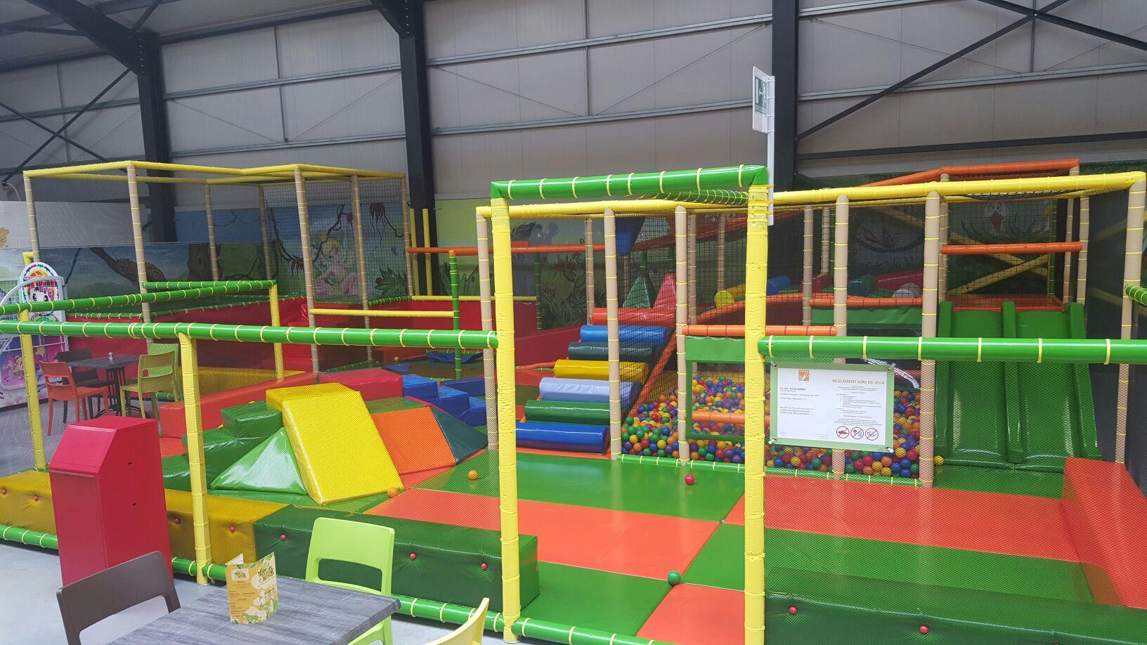 Parc De Jeux Enfants Intérieur - Fourmies - Eden Kid's dedans Jeux Pour Petit Enfant