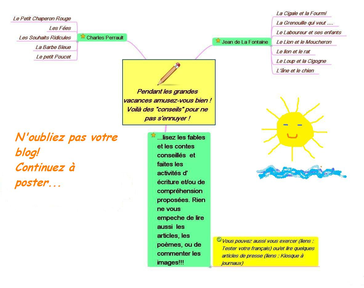 Parcours: Vive Les Vacances! (Classe 2 - Été 2010) dedans Poésie Vive Les Vacances