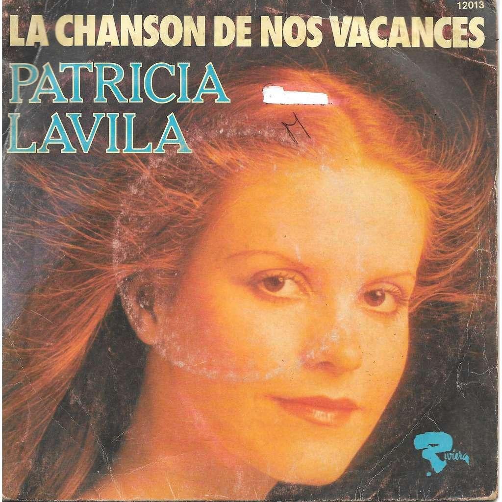 Patricia Lavila La Chanson De Nos Vacances / Pense À Moi encequiconcerne Chanson Pense À Moi