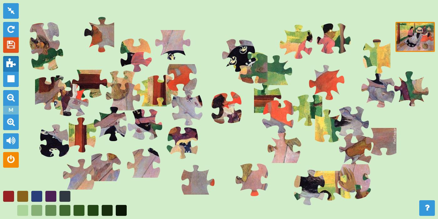 Pauzzle, Le Jeu En Ligne Pour Les Passionnés D'art Et Du destiné Puzzle En Ligne Enfant