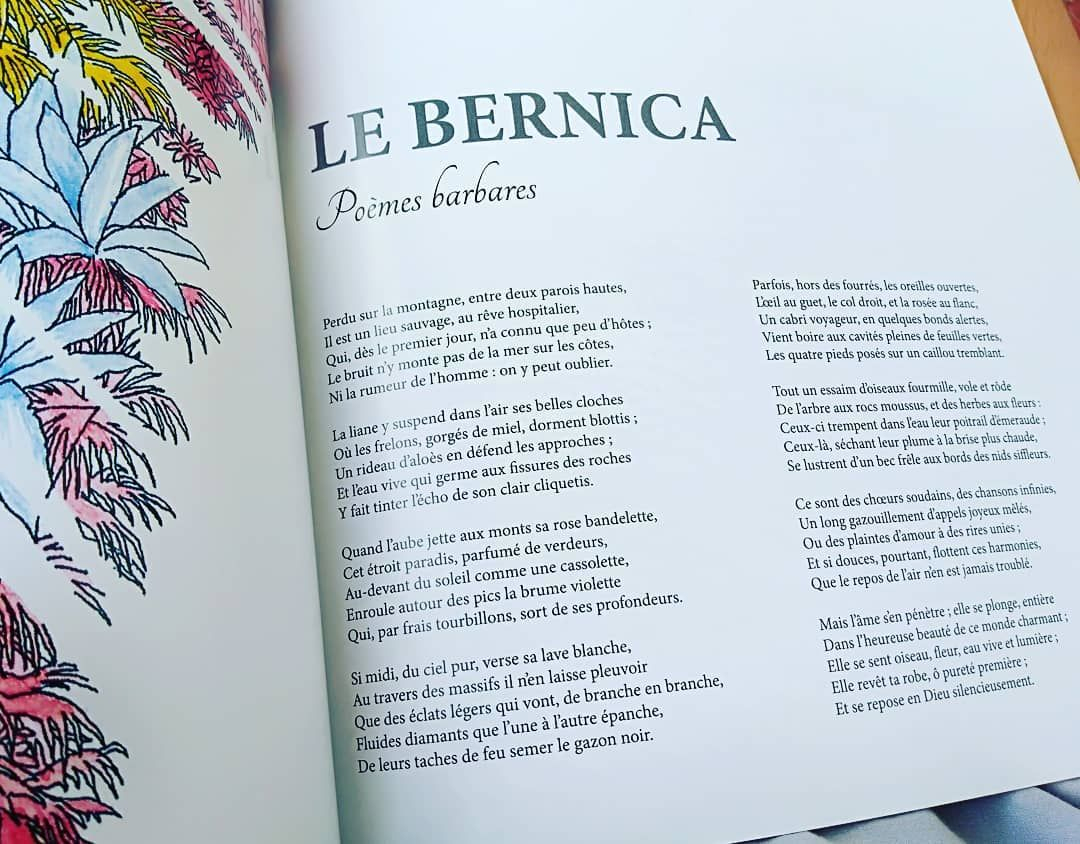 """Paysages Choisis"""" Du Matin Par Leconte De Lisle / Le Bernica à Poésie Vive Les Vacances"""