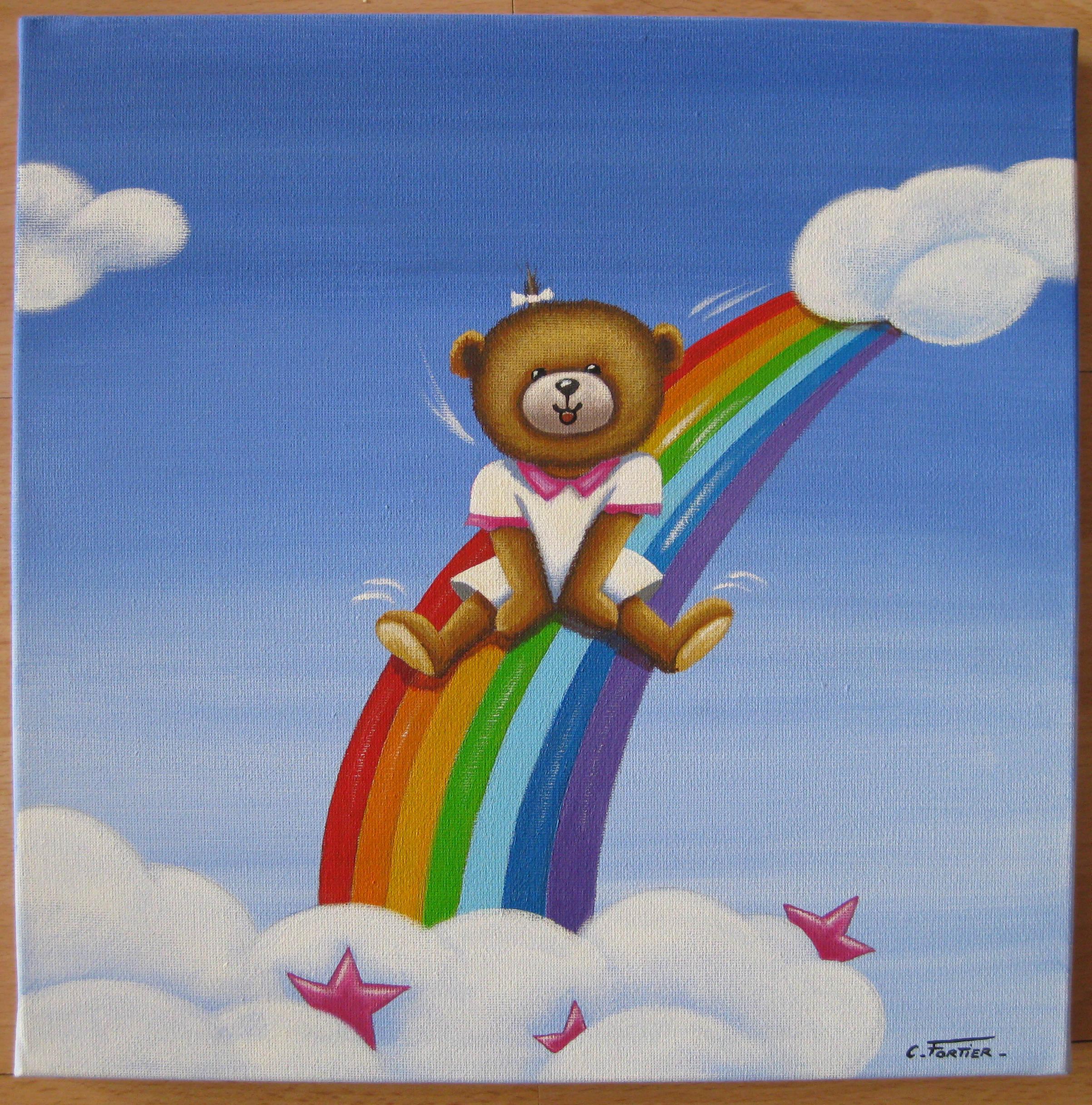 Peintures Et Toiles Pour Enfant : Une Idée Cadeau Idéale destiné Tableau De Peinture Pour Enfant