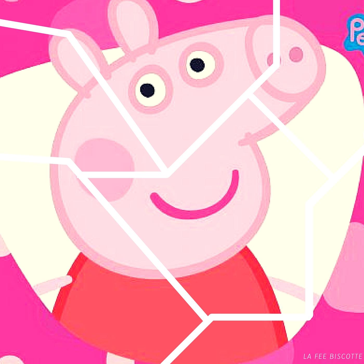 Peppa Pig Amuse Vos Enfants - La Fée Biscotte destiné Puzzle Gratuit Enfant