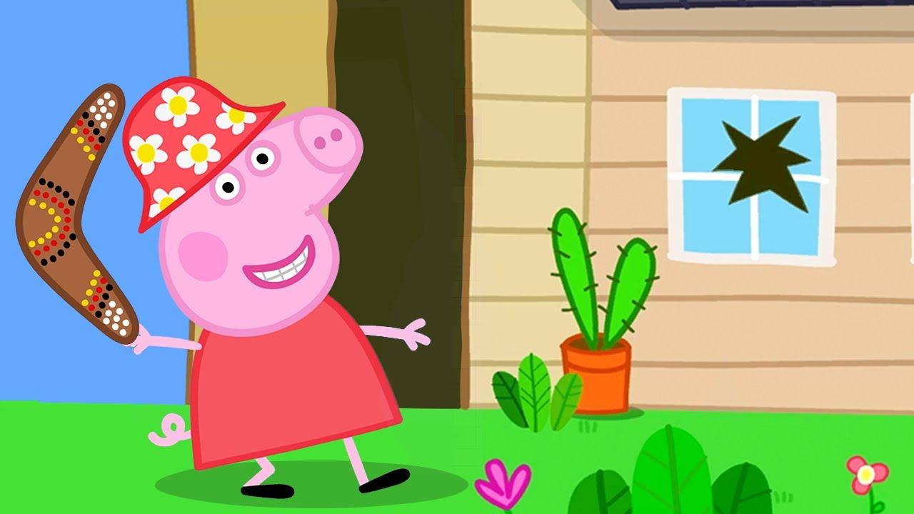 Peppa Pig Français ❤️ Le Boomerang ❤️ Dessin Animé concernant Dessin Animé De Trotro En Francais Gratuit