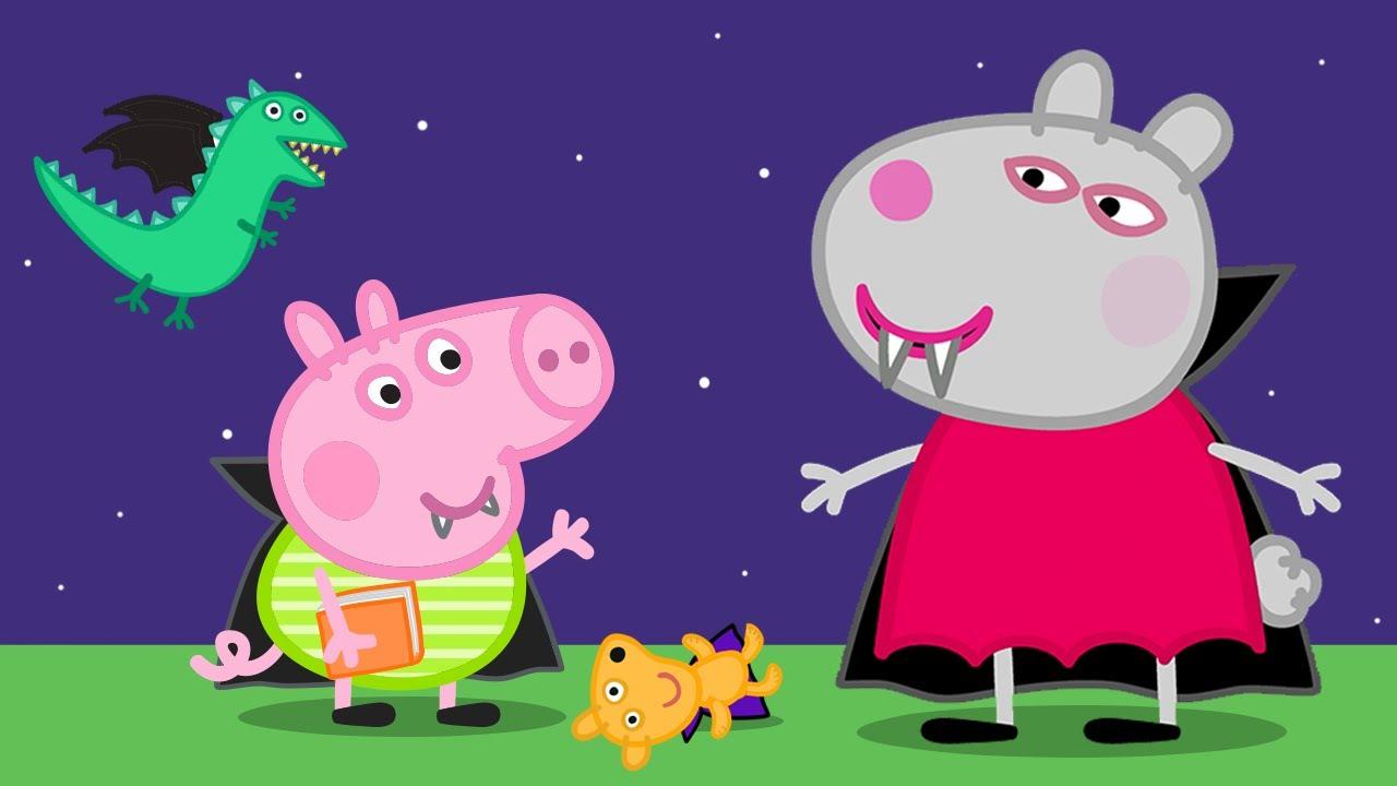 Peppa Pig Français 🎃 Épisode Spécial Halloween: Les concernant Dessin Animé De Trotro En Francais Gratuit