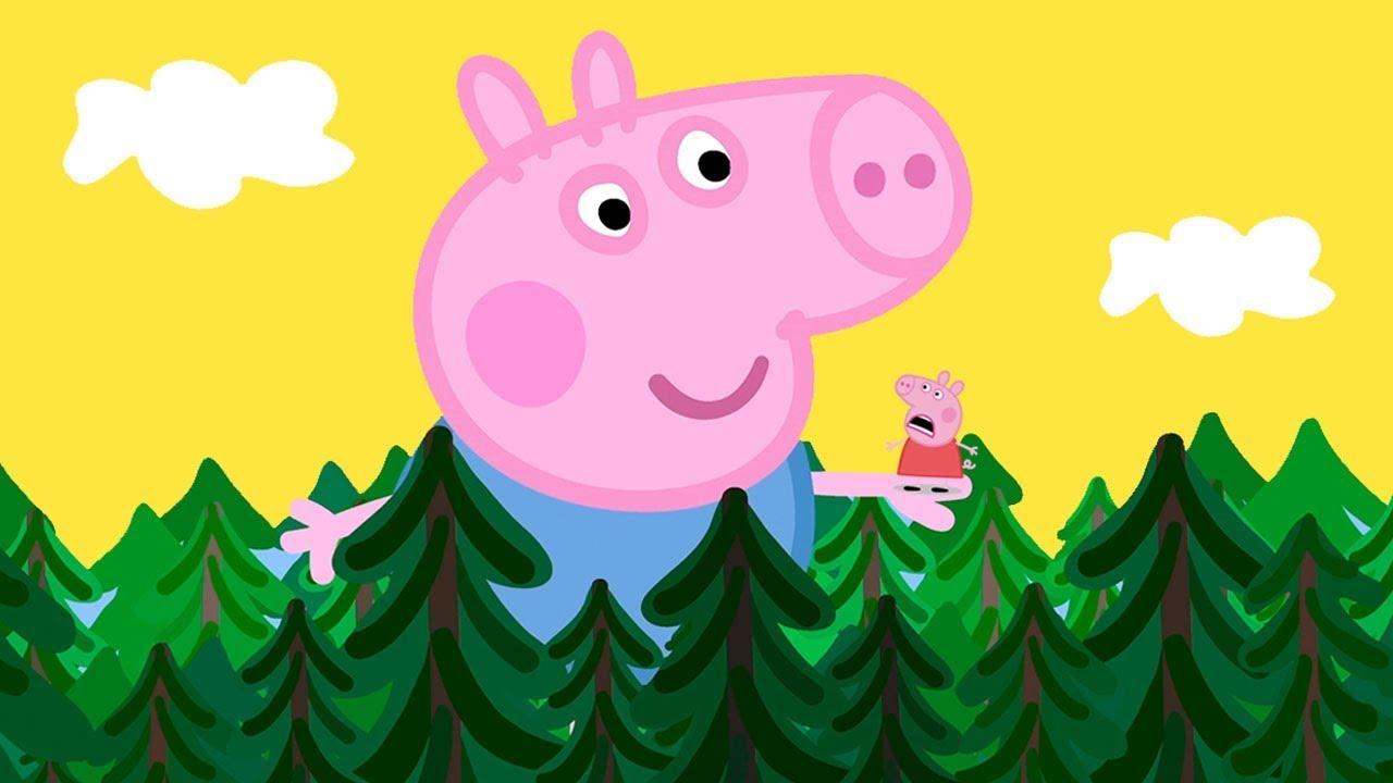 Peppa Pig Français | George, Le Géant 🏰 Contes De Fées avec Dessin Animé De Trotro En Francais Gratuit