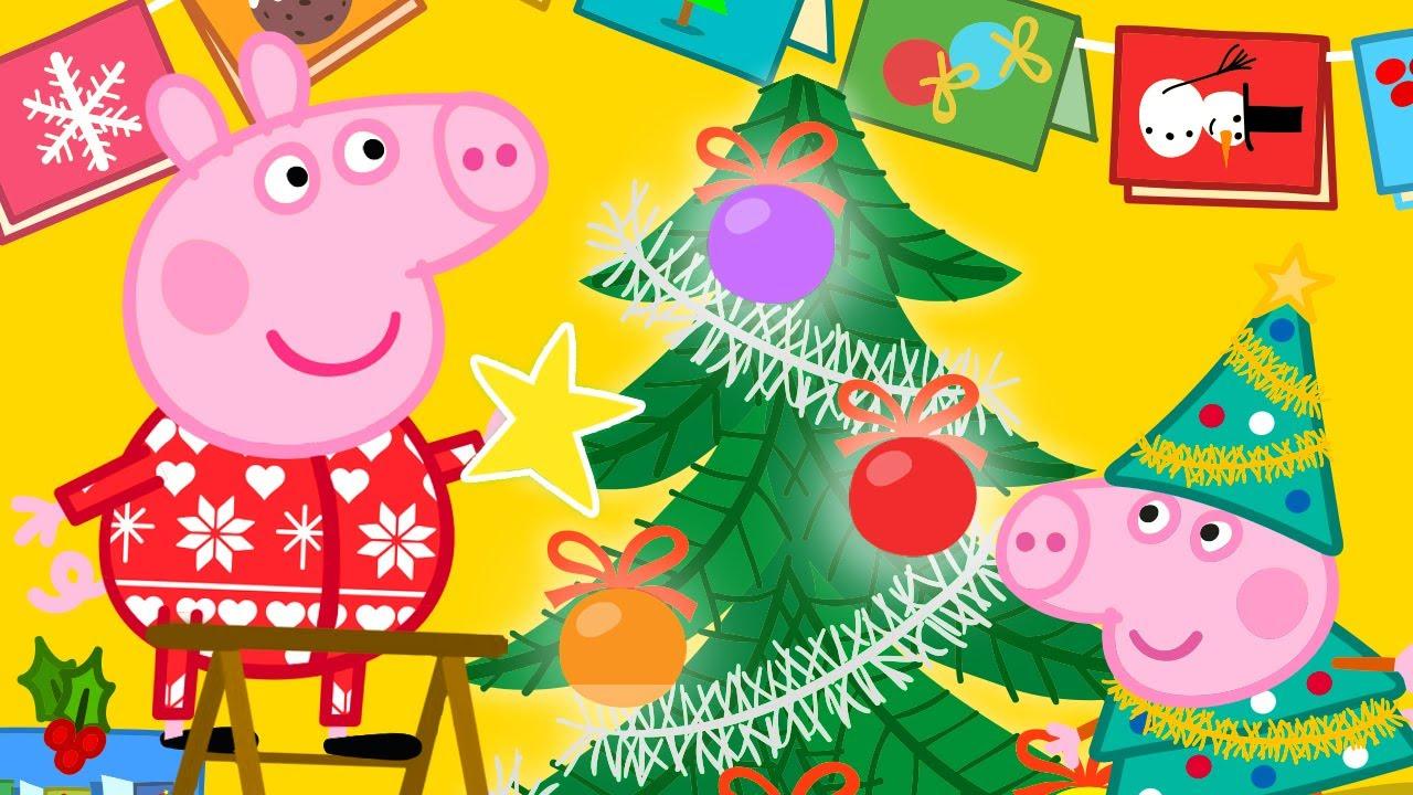Peppa Pig Français ? Peppa Décore L'arbre De Noël ? Dessin Animé dedans Dessin Animé De Trotro En Francais Gratuit