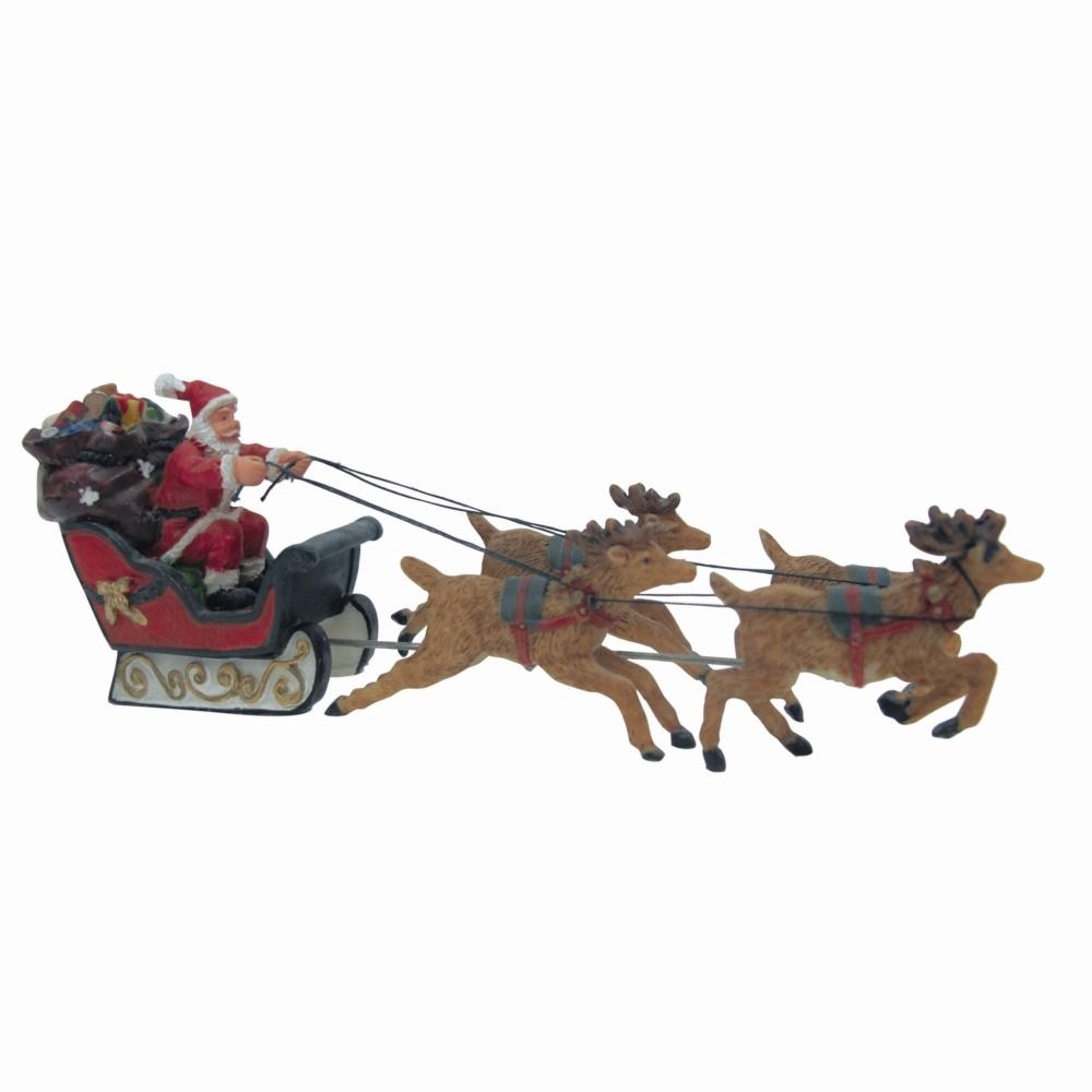 Père Noël Et Son Traîneau dedans Image De Traineau Du Pere Noel