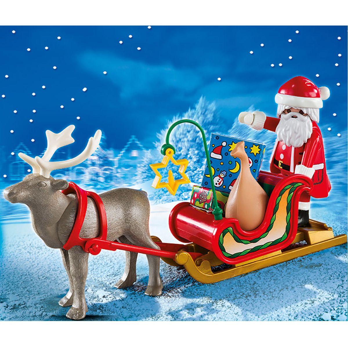 Père Noël Et Son Traîneau Playmobil Christmas 5590 serapportantà Image Du Pere Noel Et Son Traineau