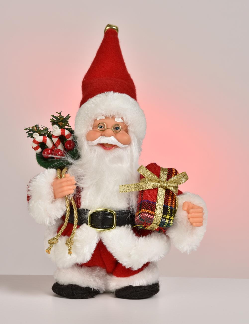 Père Noël Marcheur Avec Musique dedans Musique Du Père Noël